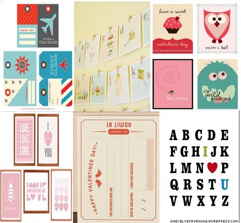 "6 free ""filler spots"" for project life blog post @ onevelvetmorning.wordpress.com"