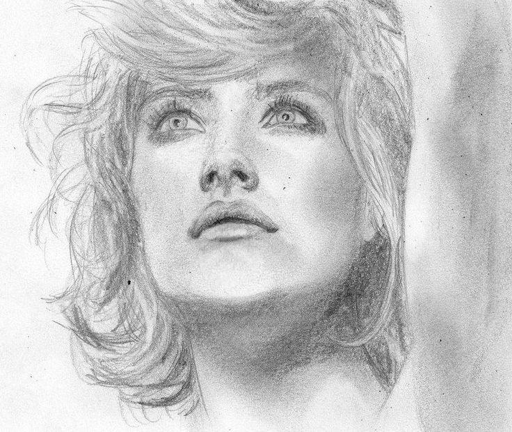 Romola Garai by eajna, drawing  http://RomolaGarai.org