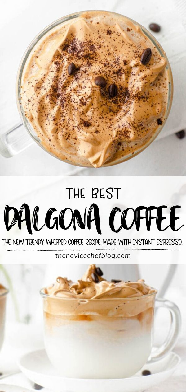 Dalgona Coffee Best Whipped Coffee Recipe + Tips