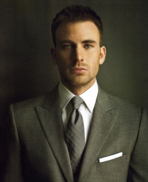 Yowsers, Chris Evans. Suit up gentlemen :o)