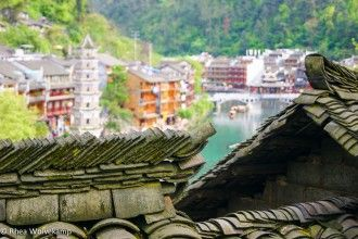Rhea wrote about an ancient town in China. #bucketlist #china #Hunan #Fenghuang #unesco #wanderlust
