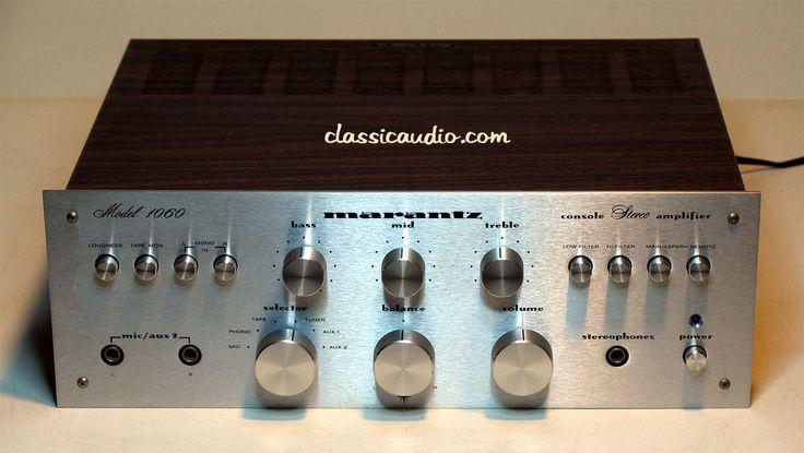 classicaudio.com..... For Sale..... Marantz 1060
