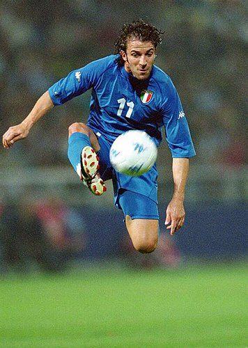 Alessandro Del Piero, Italy (Calcio Padova, Juventus, Sydney FC, Italy)