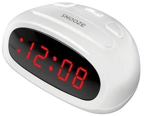 Sharp Backlit Digital Alarm Clock White - Sharp®