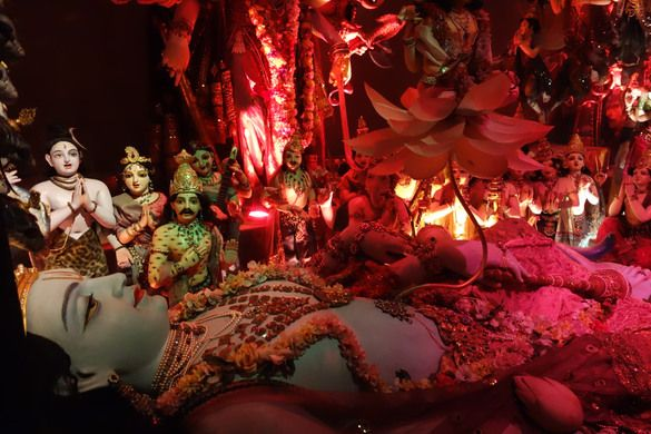 Dioramas and animatronics lead you through the story of Bhagavad-gita, the…