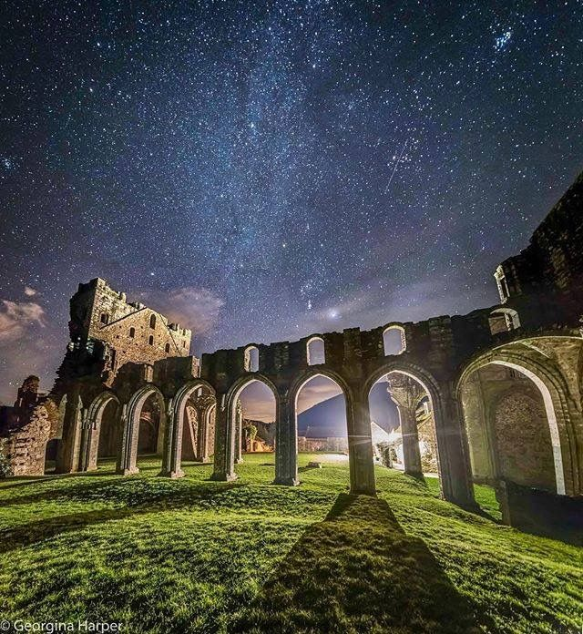 Llanthony Priory was one of the earliest houses of Augustinian canons to be founded in Britain, and is one of only a handful in Wales. It's famous today for its beautiful setting, far up the Vale of Ewyas in the Black Mountains.  Image by George Harper https://www.instagram.com/harplington/