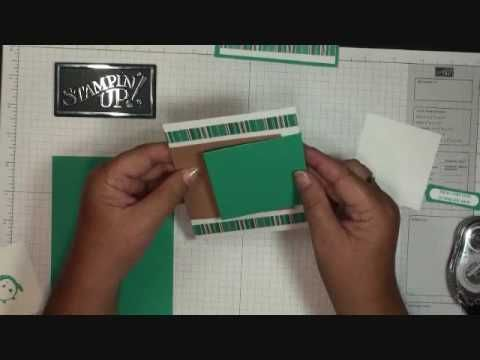 Double Flip Card (Dawn-Stampin' Up)