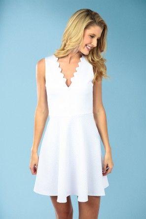 My Wish Come True Dress-White
