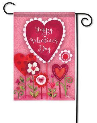 Valentine Garden Decorative Outdoor Valentine Garden Flag $10.99. Add  Eye Catching Color To Your