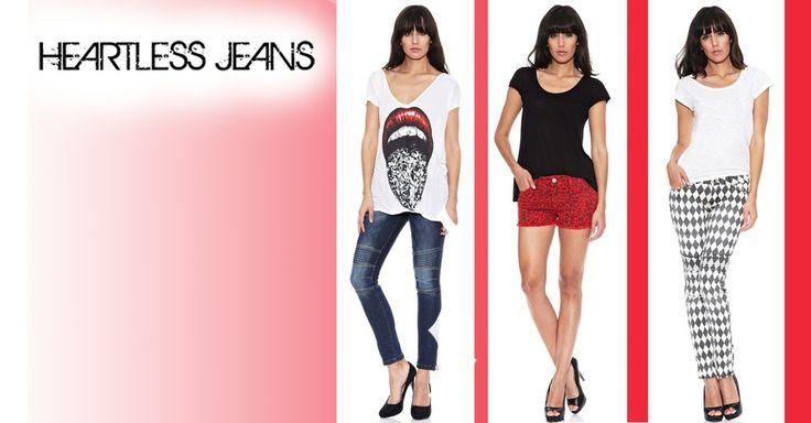 HEARTLESS JEANS hasta -65% Dto. en Amazon buyVIP Descubre las camisetas y pantalones de Heartless Jeans con un toque rockero y punkie para los días que te levantes con ganas de comerte el día y la noche.