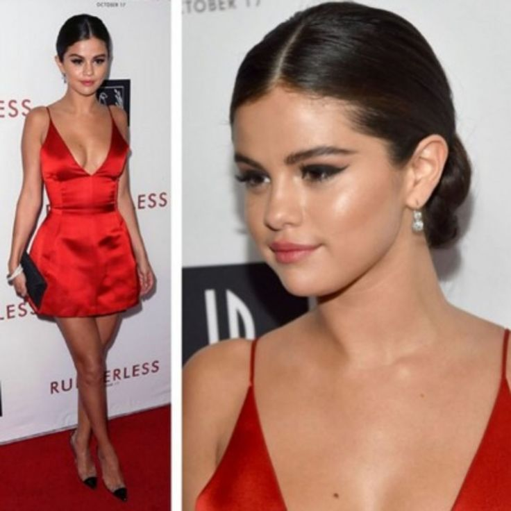 We don't see Selena Gomez with her hair slicked back too often, but she wore the chicest chignon for Tuesday's L.A. premiere of Rudderless;and we have her secrets to this flyaway-free smoothness. Try them next time you're wearing a sleek updo to a wedding (your own or a friend's!).
