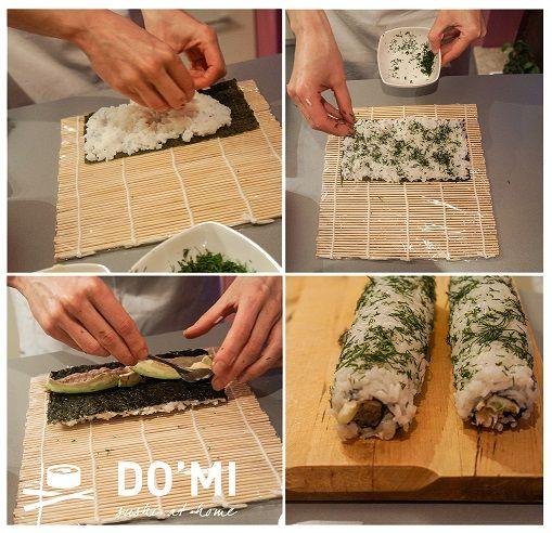 Jak zrobić sushi choinkę