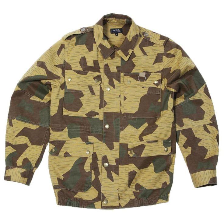 A.P.C. Soldier Jacket (Khaki)