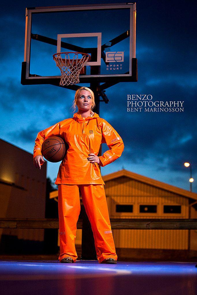 Orange Basketball player