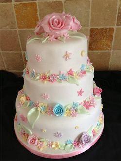 fantastic wedding cake