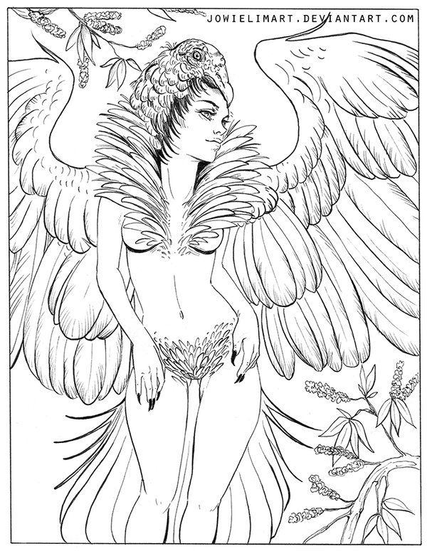 732 best Fantasy Coloring Pages