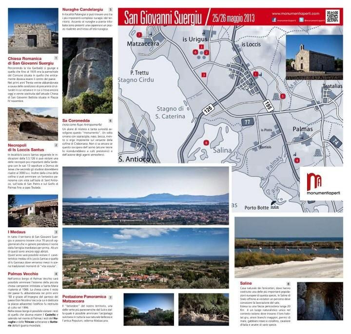 monumenti aperti 25/26 maggio a San Giovanni Suergiu