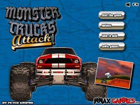 Monster Trucks Attack 16  -  24 - Monster Trucks Games Free Online - Best sound on Amazon: http://www.amazon.com/dp/B015MQEF2K -  http://gaming.tronnixx.com/uncategorized/monster-trucks-attack-16-24-monster-trucks-games-free-online/