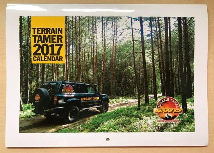 Na titulní obálce celosvětově distribuovaného kalendáře TerrainTamer 2017 je skvělá fotografie z jižních Čech
