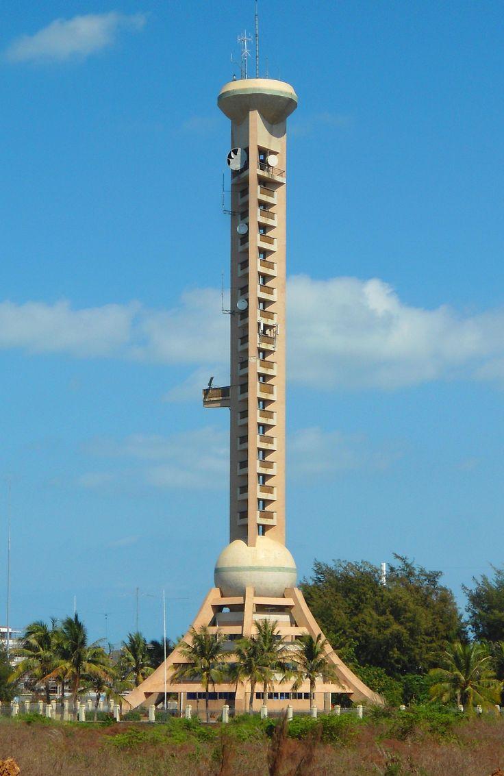 Baisha Men lighthouse [c. 2000 - Haikou, Hainan Island, China]