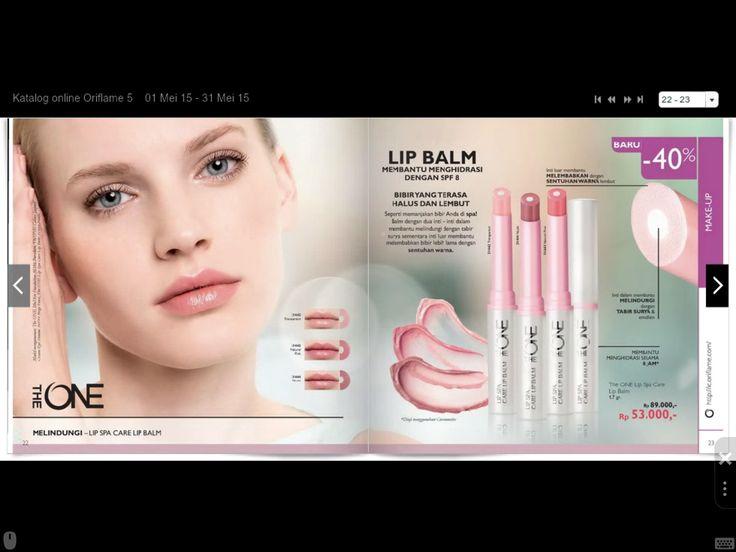 The One Lip Balm tersedia dalam 3 pilihan warna Transparent, Natural Pink, dan Nude