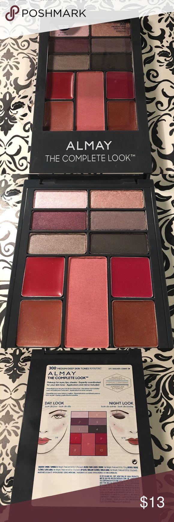 Almay The Complete Look Makeup Palette 4.0 oz. New Almay The Complete Look Makeup Palette 4.0 oz.        300 Medium/Deep Skin Tones Almay Makeup