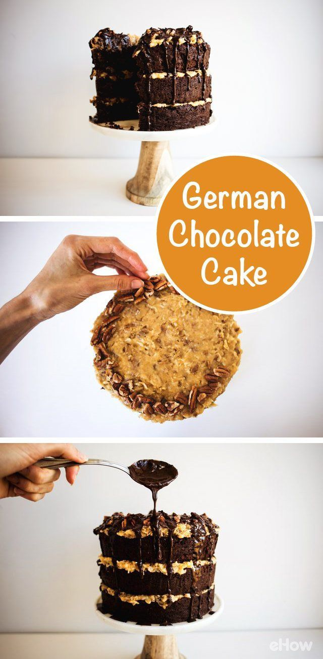 This German chocolate cake is to DIE for! Follow the recipe to make it from scratch and we promise you this will be your new signature dessert that will make all your friends envious of your baking skills!