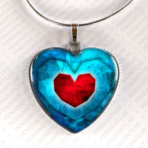 Legend of Zelda heart pendant | The 33 Best Geeky Things To Buy On Etsy