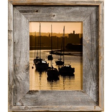rustic picture frames - is this what you want made out of old pallets