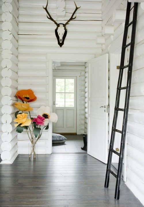 11 best Painted log cabin ideas images on Pinterest | Drawing room ...