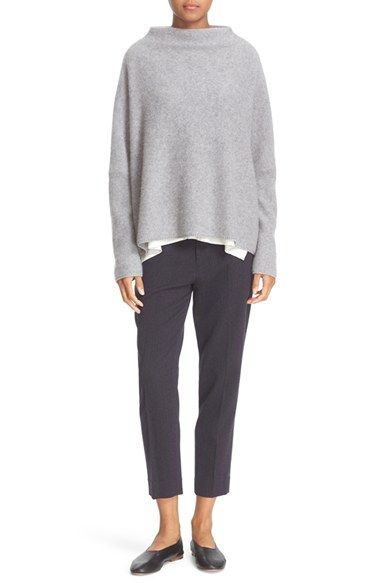 Free shipping and returns on Vince Funnel Neck Cashmere Sweater at Nordstrom.com. Pre-order this style today! Add to Shopping Bag to view approximate ship date. You'll be charged only when your item ships.A funnel neckline brings face-framing chic to a slouchy drop-shoulder pullover of decadently soft cashmere knit.