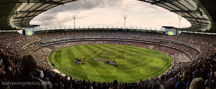 Melbourne Cricket Ground Australia HD Widescreen Wallpaper