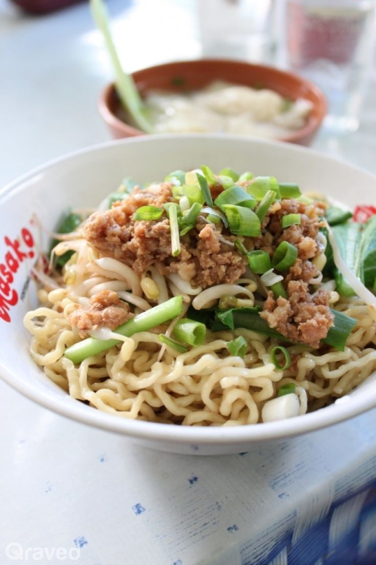 A very lusty affair with Indonesian Style Bakmi varieties... this particular one is Bangka style