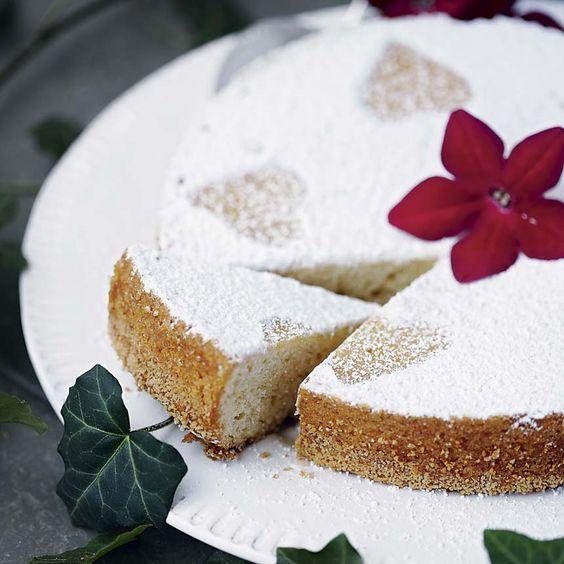 (Eggfree eggless sponge cake) Sockerkaka utan ägg som är perfekt även som tårtbotten.