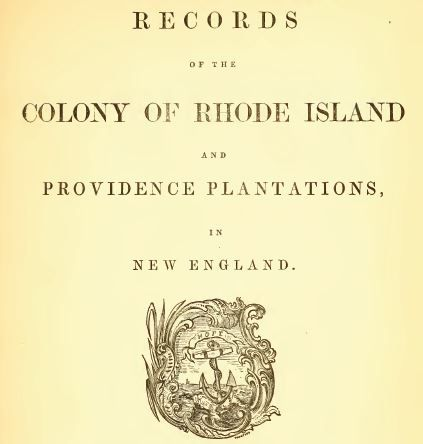 State Of Rhode Island And Providence Plantations Secretary Of State