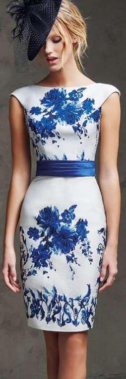 Vestidos de boda para invitadas con estampados - Sencillo y sofisticado