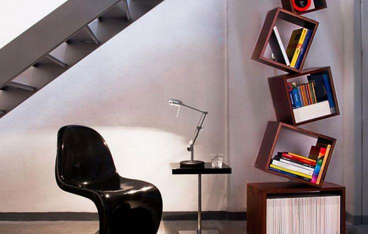 βιβλιοθήκες Η ασύμμετρη βιβλιοθήκη