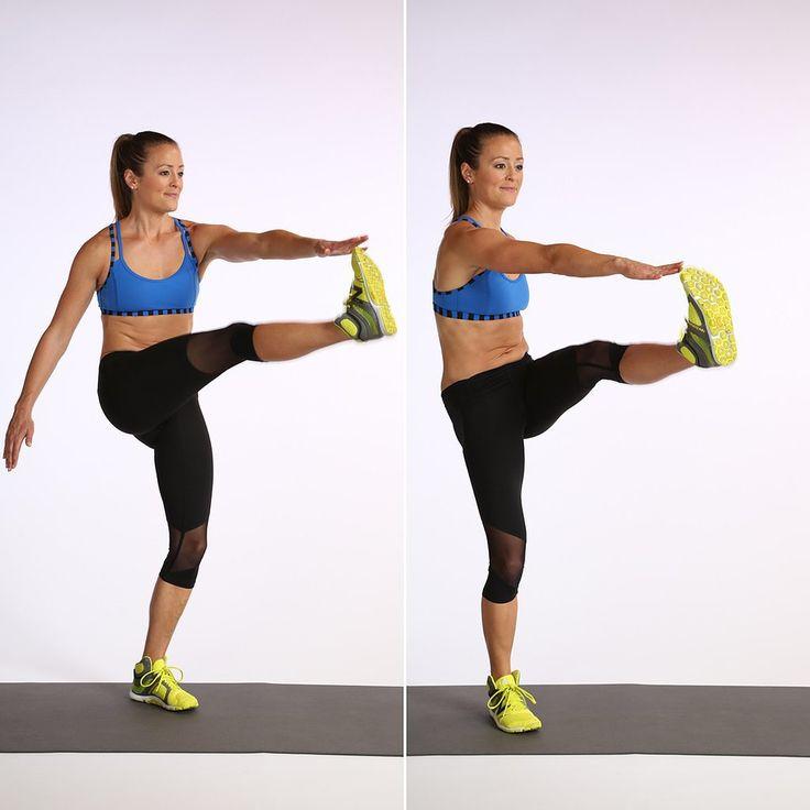 Alternate crunch workout