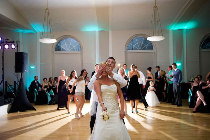 Great Hall with uplighting changes the whole space! Ripon College alumni weddings. Photo: Jennifer Brindley Photography