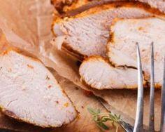 Filet de porc froid en croûte de moutarde : http://www.fourchette-et-bikini.fr/recettes/recettes-minceur/filet-de-porc-froid-en-croute-de-moutarde.html