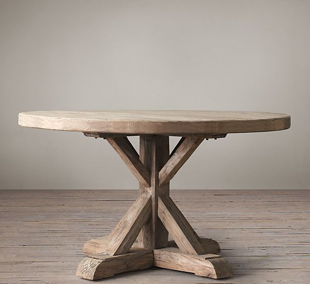 177 best images about restoration hardware on pinterest for Looking for round dining table