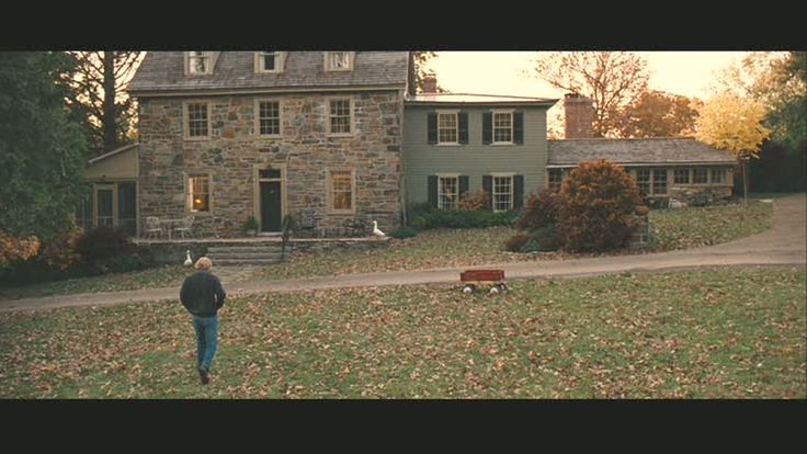 "The Old Stone Farmhouse in ""Marley & Me"""