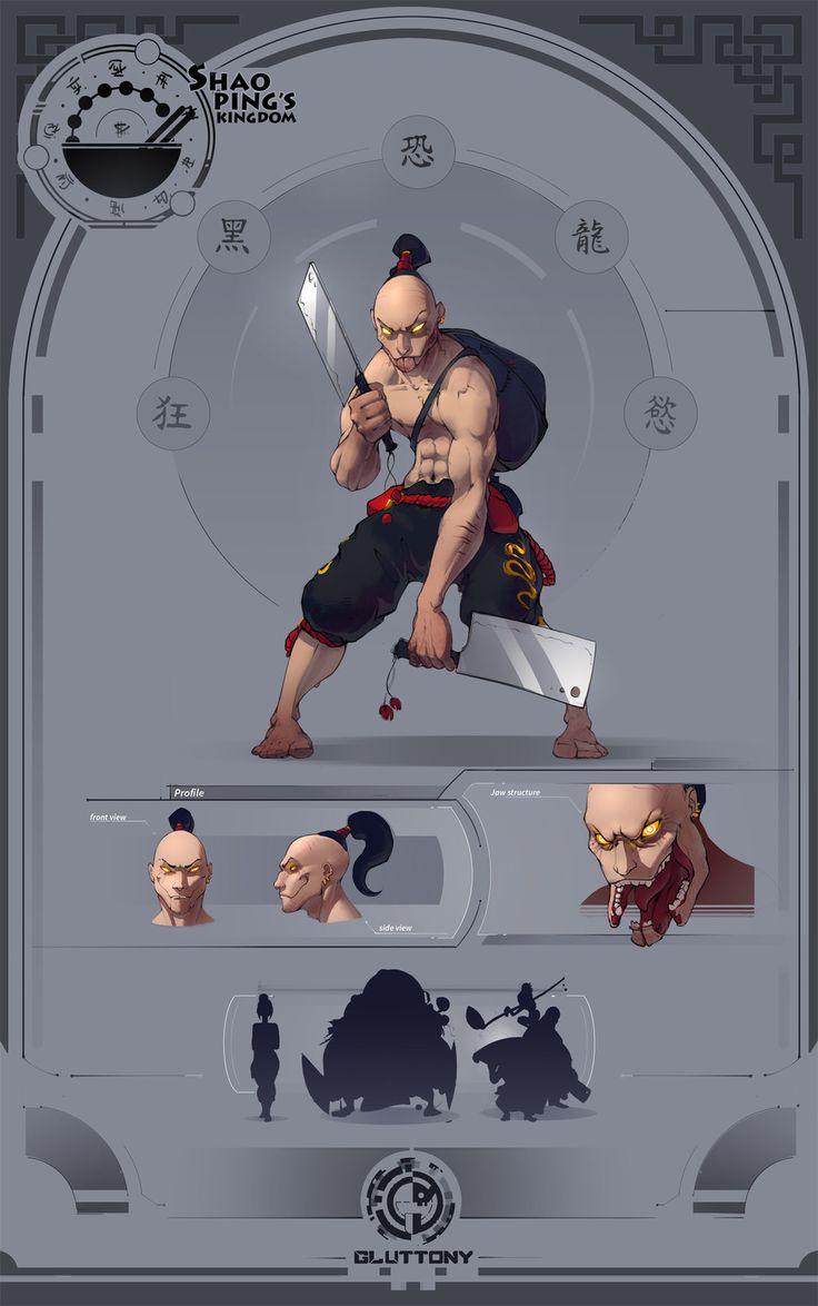 Ingredient Hunter at ShaoPing's, Nikita Blyzniuk on ArtStation at https://www.artstation.com/artwork/RXyLE