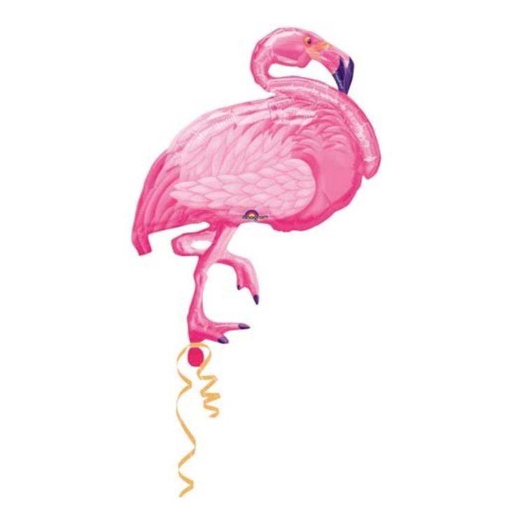 Flamingo Foil Balloons – Lucky Lulu Party Shop