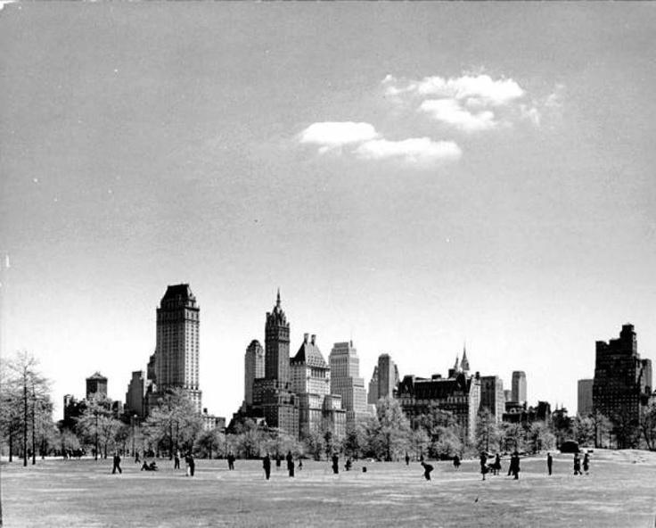 Central Park, Nueva York en 1940