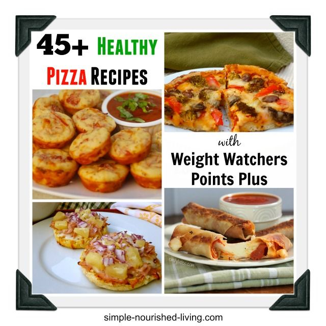 45 healthy recipes pizza weight watchers points plus healthy weight food blogs and healthy. Black Bedroom Furniture Sets. Home Design Ideas