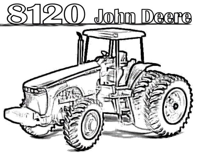 21 Excellent Picture Of Tractor Coloring Pages Tractor Coloring