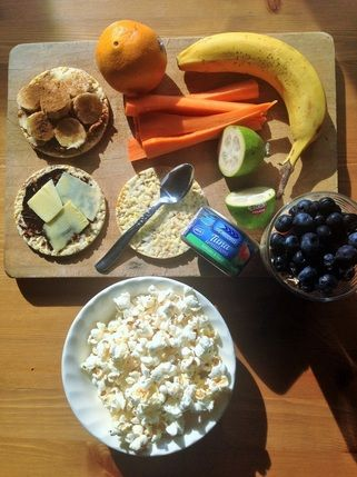 Savvy After-school Snacking for kids