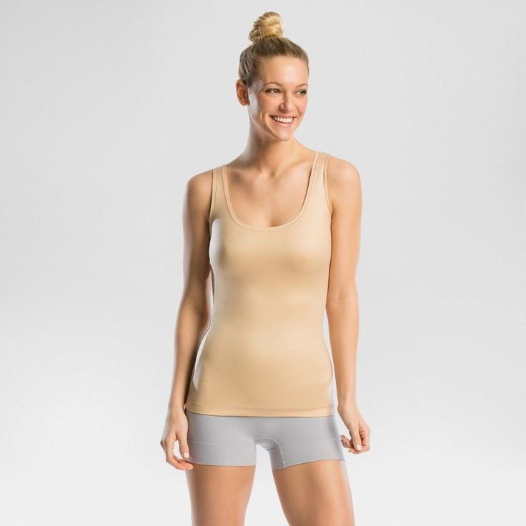 Assets by Spanx In Or Out Tank - Nude S, Beige Nude