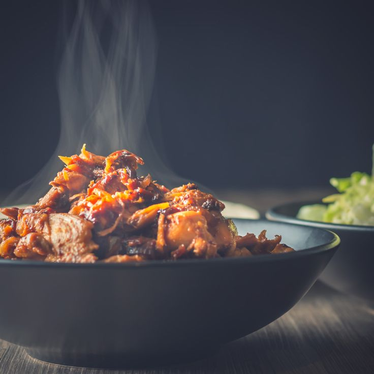 Indian Chicken Pickle - A semi-spicy dish loaded with flavor!